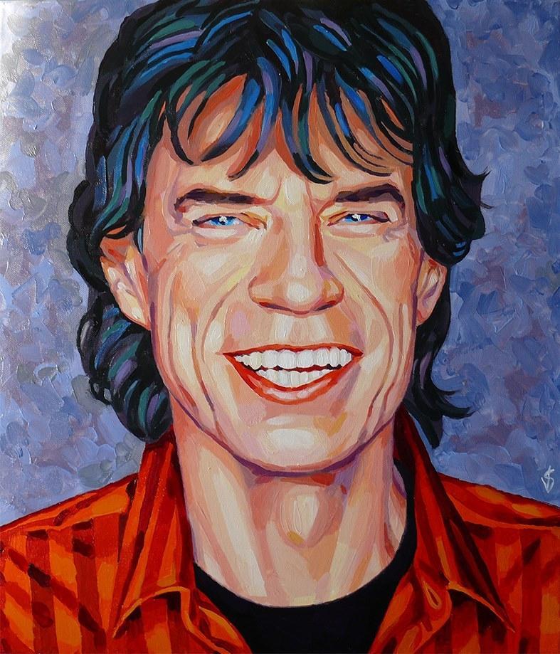 Mick Jagger by Vasilina